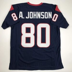 Andre Johnson Houston Blue Football Jersey